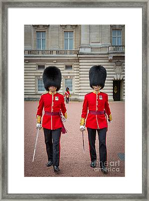Queen's Guards Framed Print by Inge Johnsson
