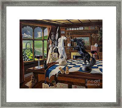 Queen's Magic Framed Print by Jeanne Newton Schoborg