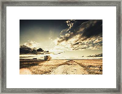 Queensland Countryside Landscape Framed Print by Jorgo Photography - Wall Art Gallery