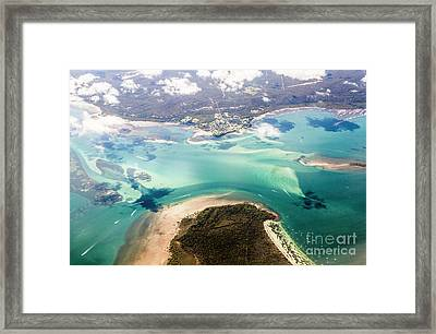 Queensland Island Bay Landscape Framed Print by Jorgo Photography - Wall Art Gallery