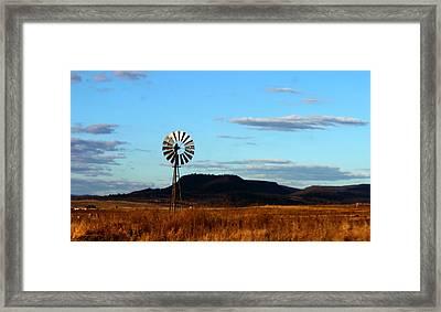 Queensland Windmill Framed Print by Susan Vineyard