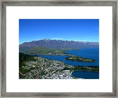 Queenstown New Zealand Framed Print