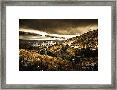 Queenstown Tasmania Framed Print by Jorgo Photography - Wall Art Gallery