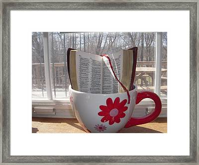 Quench Your Thirst Framed Print by Deborah Finley