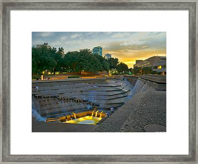 Quenched Framed Print