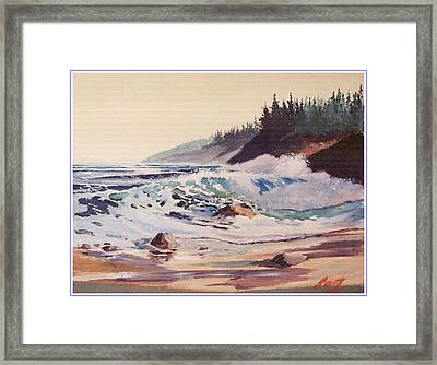 Quensland Beach Framed Print by Barry Smith