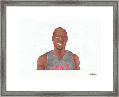 Quentin Richardson Framed Print