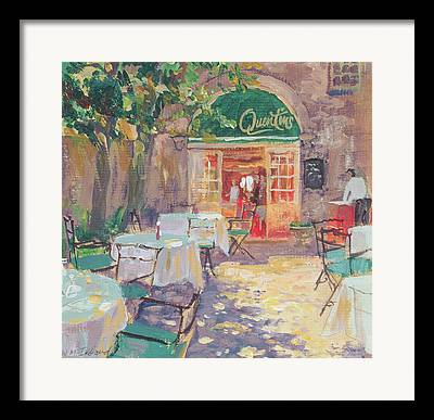 Empty Chairs Paintings Framed Prints