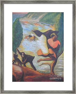 Quest For Freedom Framed Print