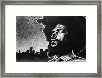 Questlove. Framed Print by Darryl Matthews