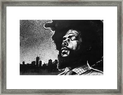 Questlove. Framed Print