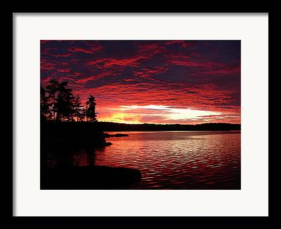 Sun Rise Framed Prints