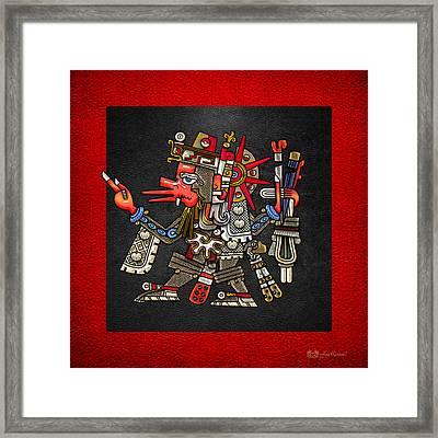 Quetzalcoatl - Codex Borgia Framed Print