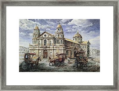 Quiapo Church 1900s Framed Print