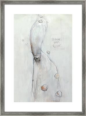 Quiche Baby Quiche Framed Print by Maarten Wydooghe