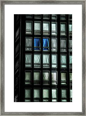 Quick Call The Condo Association Framed Print
