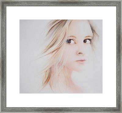 Quick Fade Framed Print