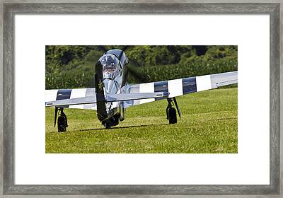 Quick Silver At Geneseo Framed Print