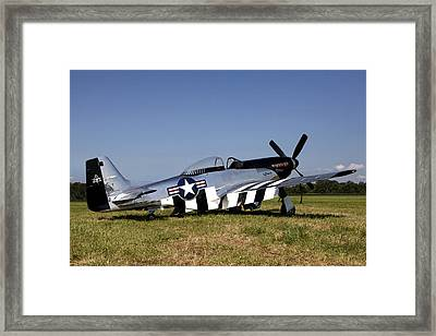 Quick Silver Geneseo Framed Print