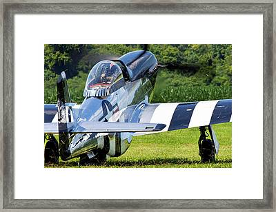 Quick Silver Landscaping Framed Print
