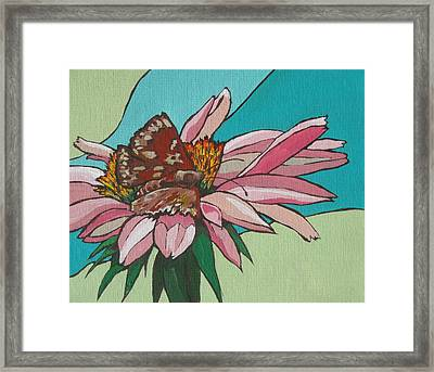 Quick Taste Framed Print by Sandy Tracey
