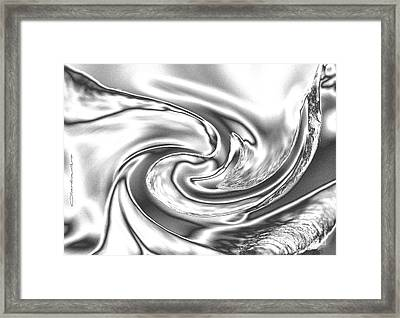 Quicksilver Eddy Framed Print