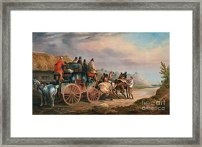 Quicksilver Framed Print by MotionAge Designs