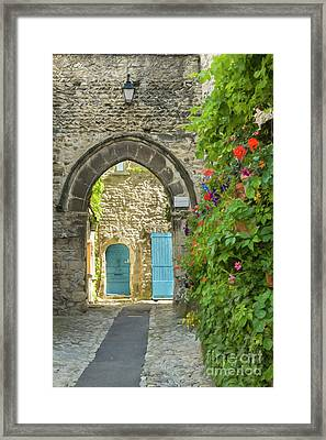 Quiet Alley Framed Print by Brenda Tharp