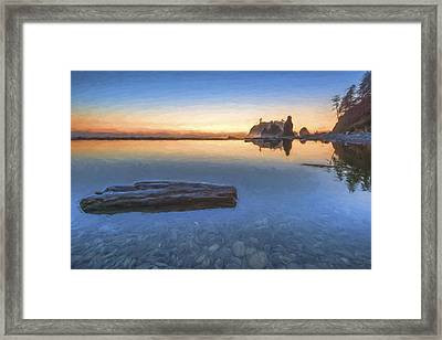 Quiet, Alone And Still II Framed Print