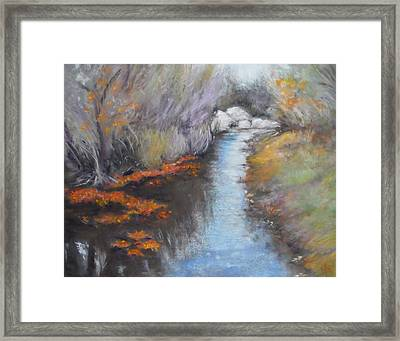 Quiet Arrival Framed Print