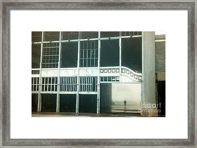 Quiet Asbury Park Casino Framed Print