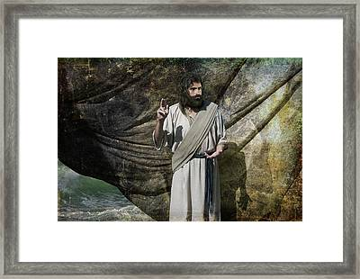 Quiet Be Still Framed Print by Acropolis De Versailles
