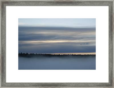 Quiet Before Dawn Framed Print by Suzanne Lorenz