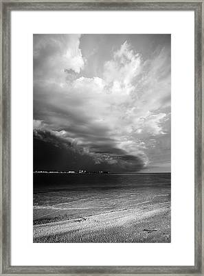 Quiet Before The Storm Framed Print