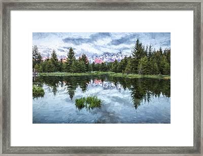 Quiet Beginnings II Framed Print