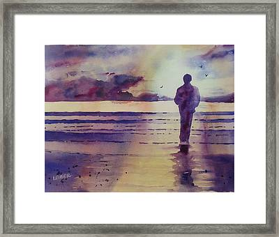 Quiet Contemplation Framed Print by Donna Leiber