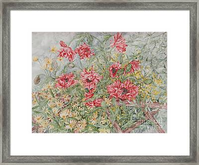 Quiet Corner Framed Print