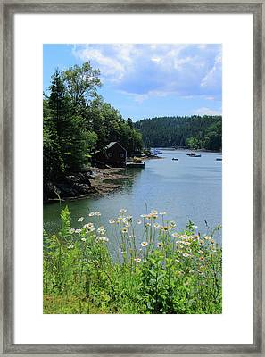 Quiet Cove 2 Framed Print