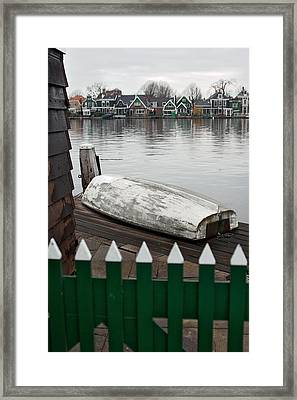 Quiet Day Off Framed Print