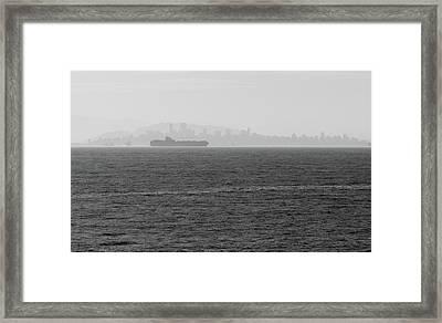 Quiet Giants Framed Print