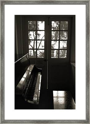 Quiet Interlude Framed Print