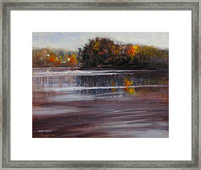 Quiet Lake Framed Print