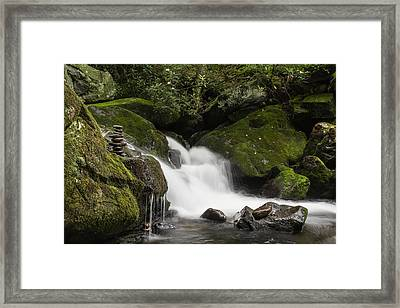 Framed Print featuring the photograph Quiet Meditation  by Julie Andel