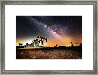 Quiet Night Framed Print by Matt Smith