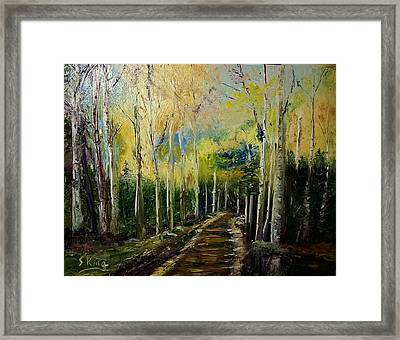 Quiet Place Framed Print