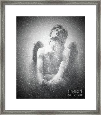Quiet Reverance Framed Print by KaFra Art
