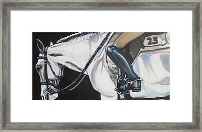 Quiet Ride Framed Print