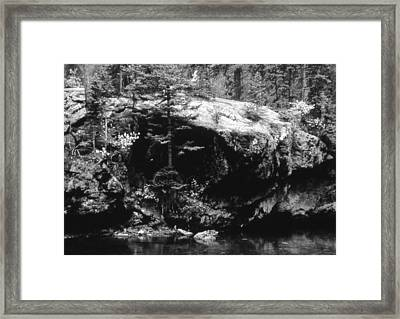 Quiet River Framed Print