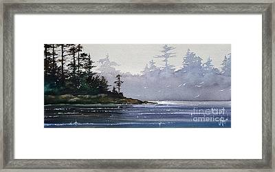 Quiet Shore Framed Print by James Williamson