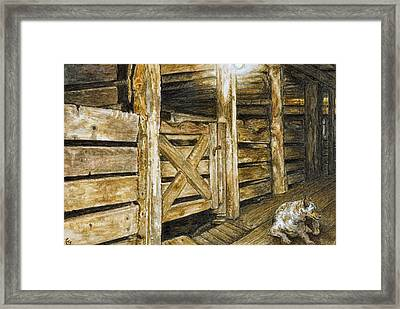 Quiet Solitude Framed Print by Traci Goebel